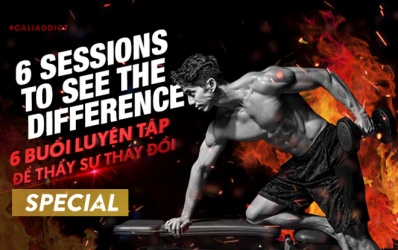 6 buổi luyện tập để thấy sự thay đổi-6 Sessions to see the difference