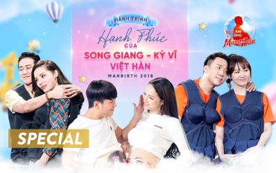 Khi đàn ông mang bầu: Hành trình hạnh phúc của Song Giang - Kỳ Vĩ - Việt Hàn