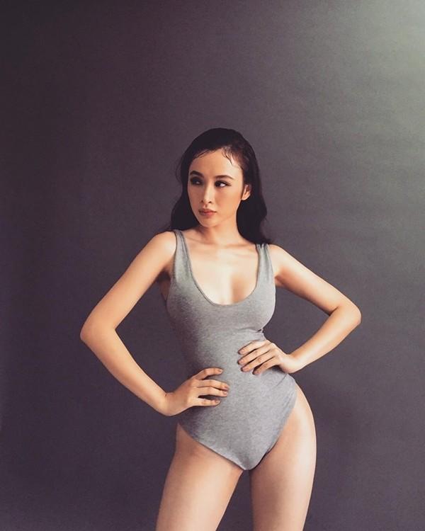 Angela Phương Trinh tự tin khoe vóc dáng trong bộ bodysuit ôm sát không  quan tâm