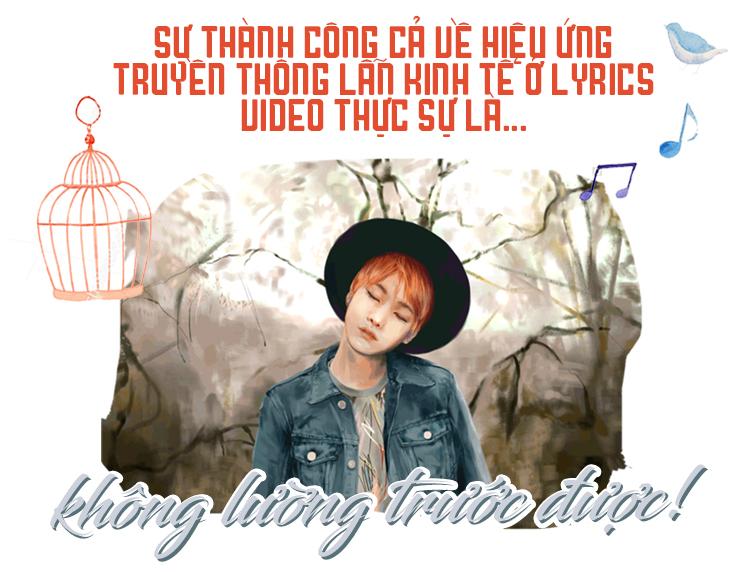 MV Lyrics - Cuộc hoán đổi ngoạn mục từ sản phẩm thăm dò thành 'Át chủ bài'