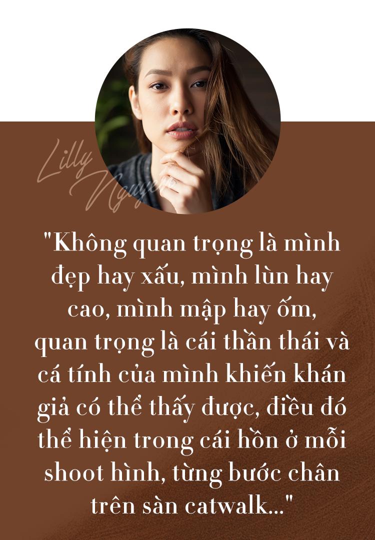 Có 1 Lilly thật khác ở câu chuyện nhìn lại mình trong làng mẫu Việt