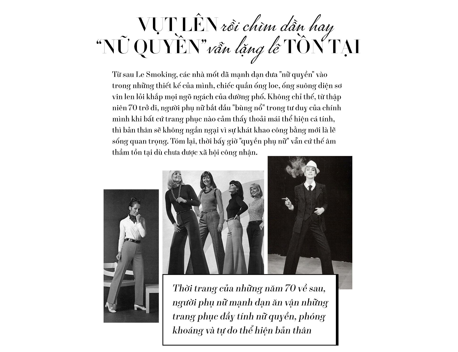 Nữ quyền - cụm từ đang xâm chiếm làng thời trang một cách mạnh mẽ nhất