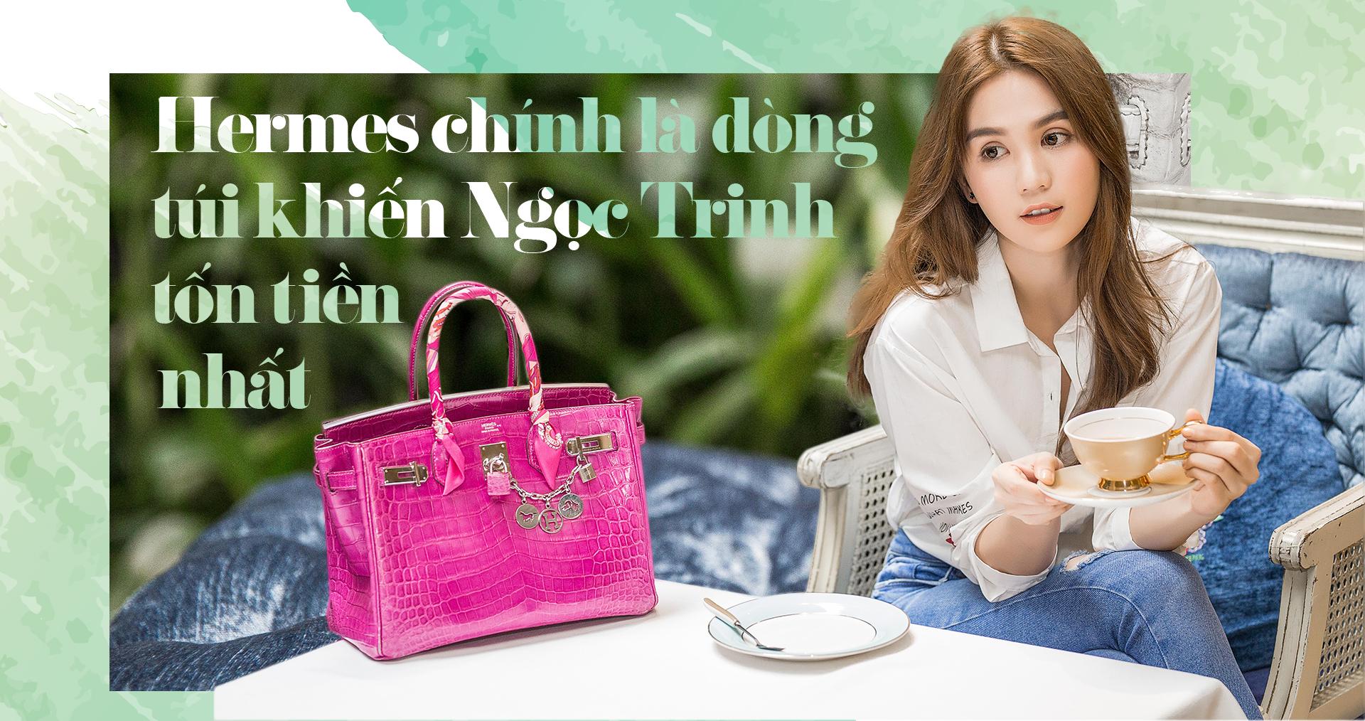 Ngọc Trinh: 'Khi tôi có điều kiện, tôi muốn mua dòng túi đắt nhất của thương hiệu đó'