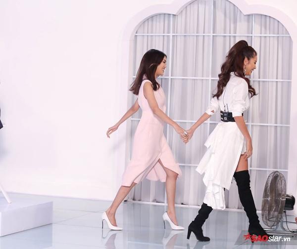 Đơn giản nhưng tinh tế và tạo được hiệu quả thẩm mỹ cao là những gì Minh Tú đã làm được với cách lựa chọn trang phục trong tập 2.