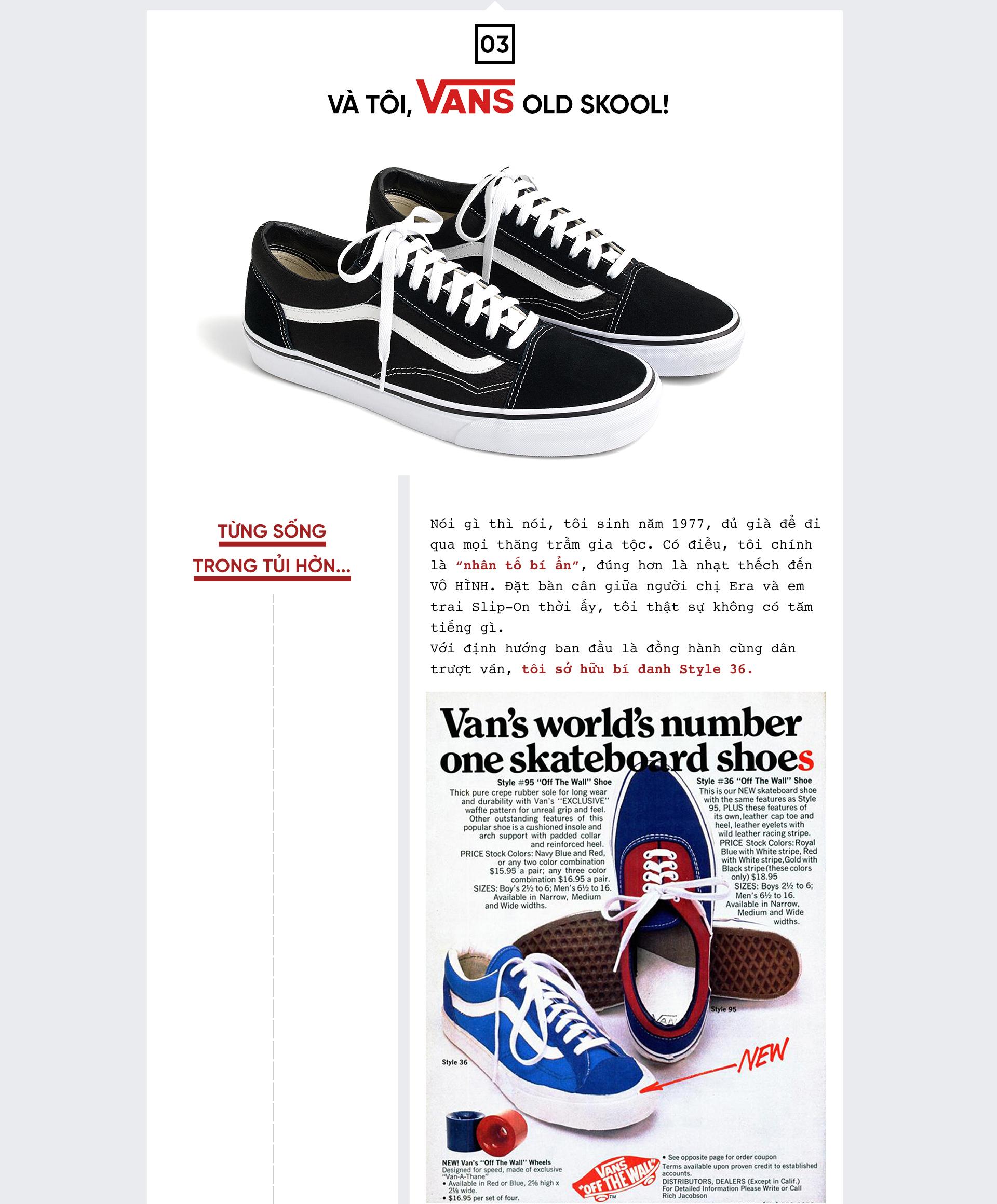 Vans Old Skool: 'Thu phục' tay chơi thế giới từ đắng cay của kẻ vô hình