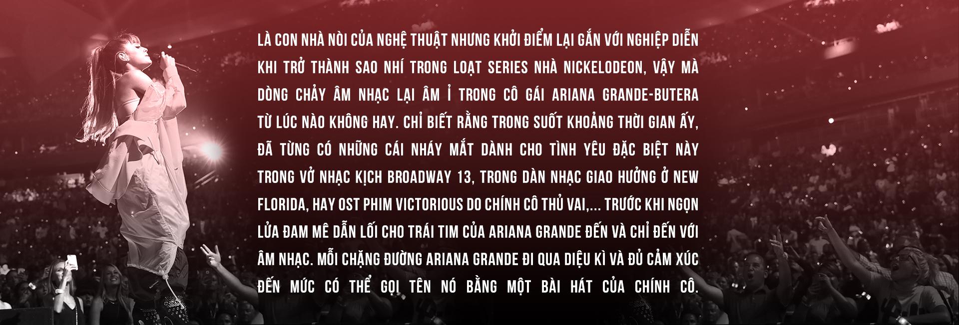 Ariana Grande - Từ nàng 'tay ngang' vươn lên NGÔI SAO TRẺ thành công nhất thế giới