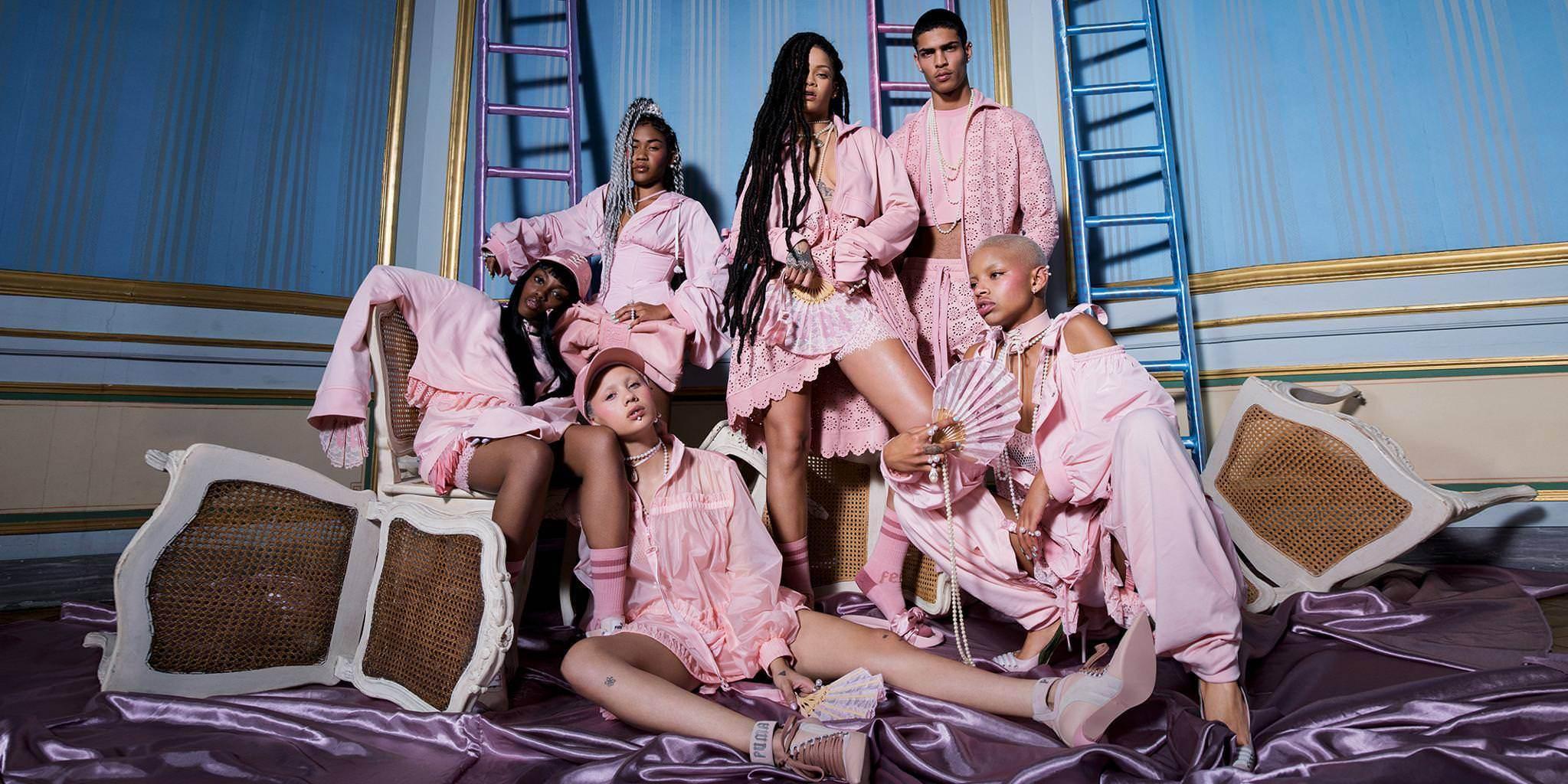Tiếp đến là lookbook Xuân Hè 2017 của Fenty x Puma hợp tác cùng Rihanna.