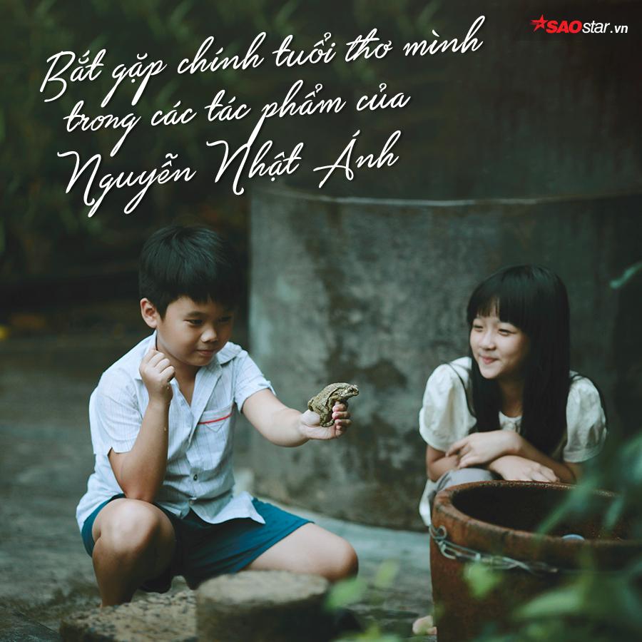 Cảm ơn chú Nguyễn Nhật Ánh, vì đã luôn bảo vệ những kí ức tuổi thơ của bọn trẻ con ngày nào…