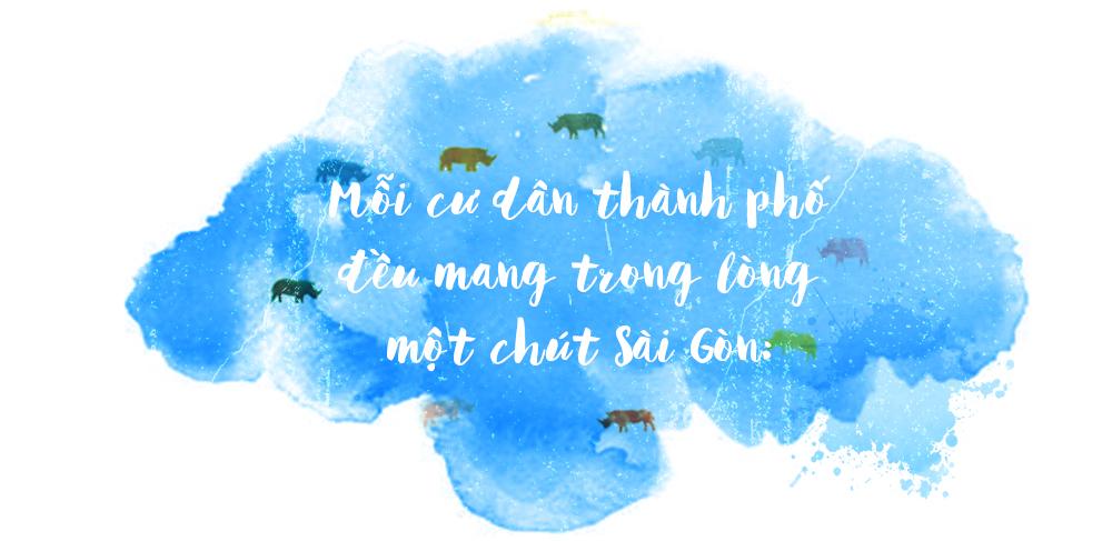 Chuyện của những bức tường thay áo mới giữa lòng Sài Gòn