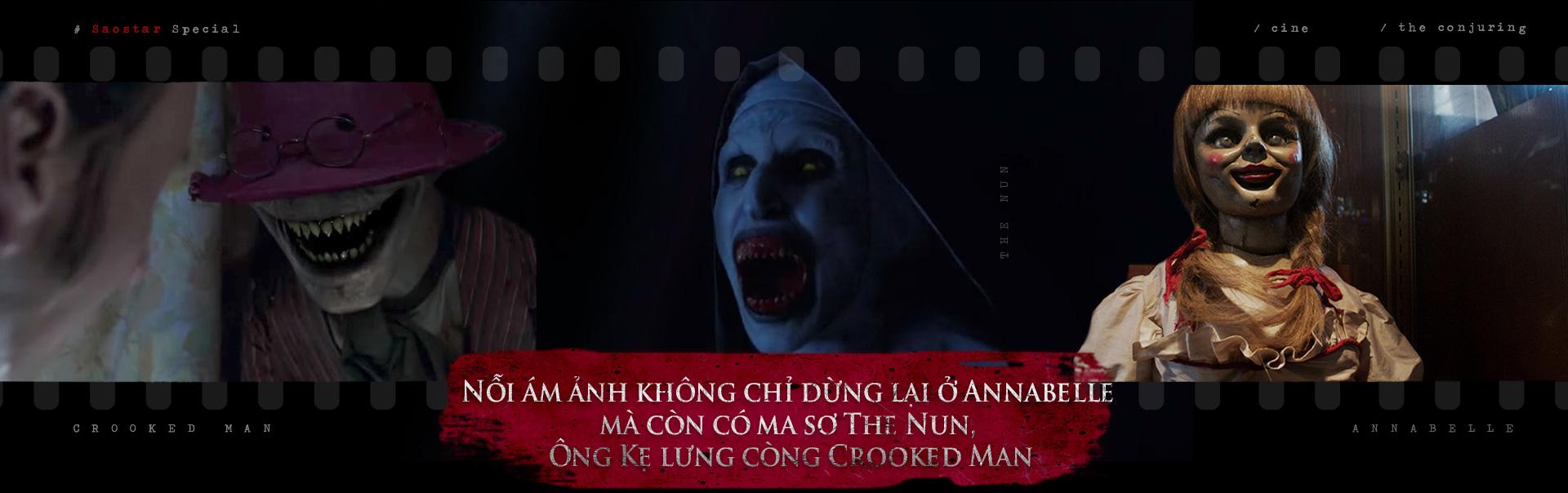 Sự trỗi dậy hùng mạnh của đế chế ác ma trong Vũ trụ điện ảnh 'The Conjuring'