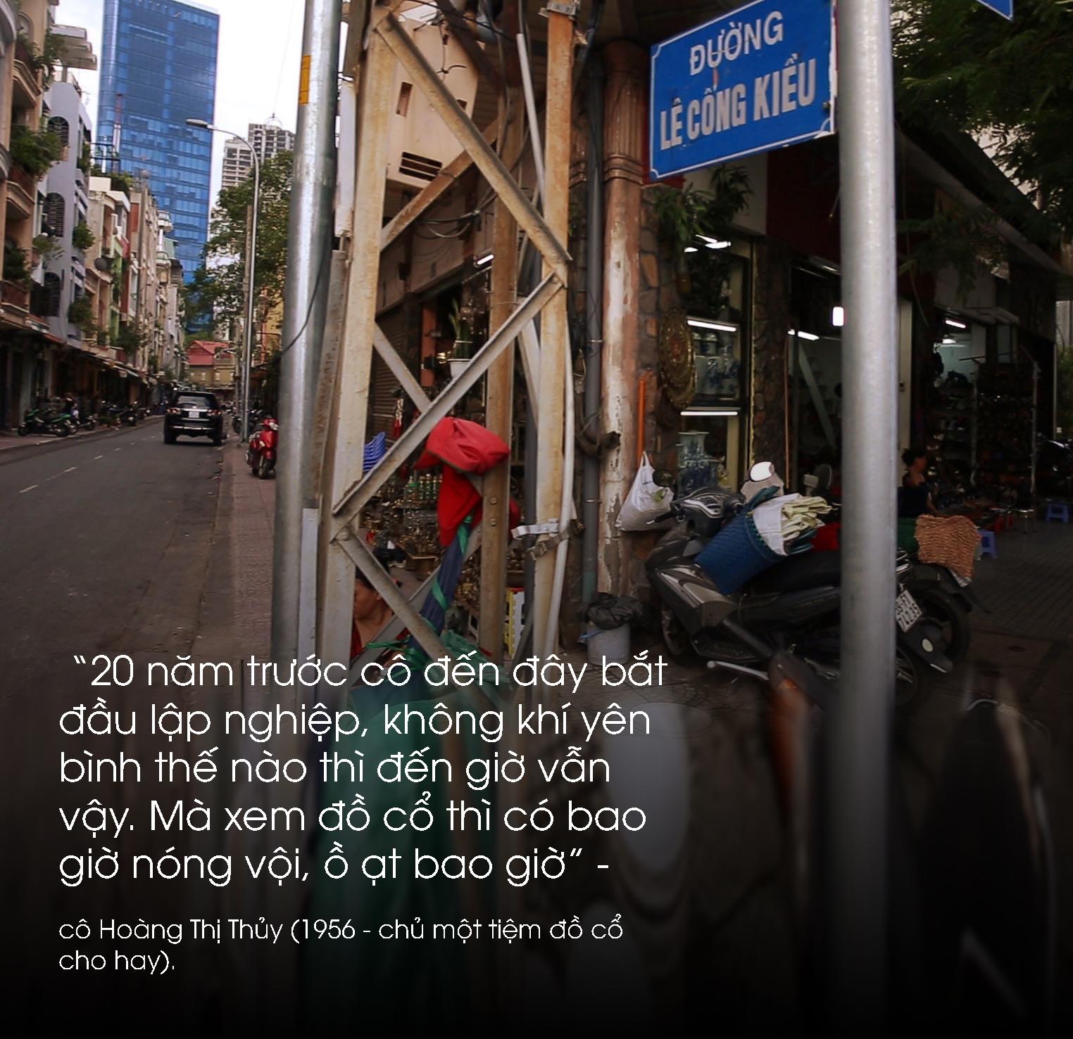 Phố 'triệu đô' giữa lòng Sài Gòn - nơi lưu giữ cổ vật của một thời vàng son