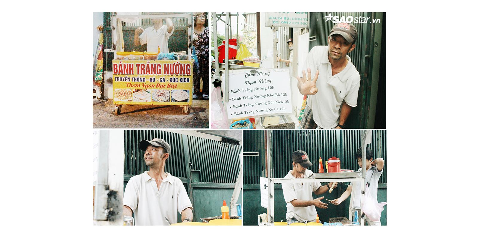 Người đàn ông câm điếc bán bánh tráng nướng và lòng tốt 'biếu không' từ những người dưng