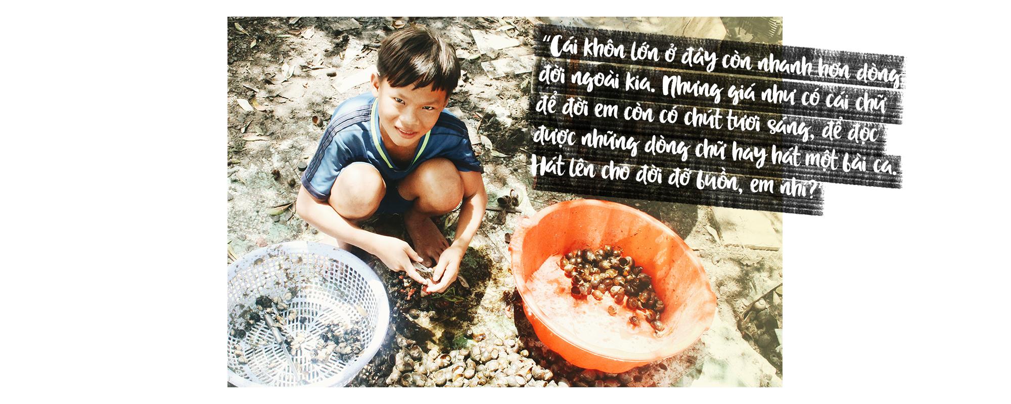 Chuyện ở xóm ốc Sài Gòn phần 2: Thằng Trớt 'thánh ốc' và thằng Phố 'rau muống'