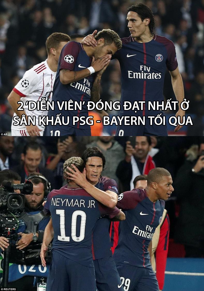 Sau vụ mâu thuẫn gây ồn ào, Neymar và Cavani đã có trận đấu đầu