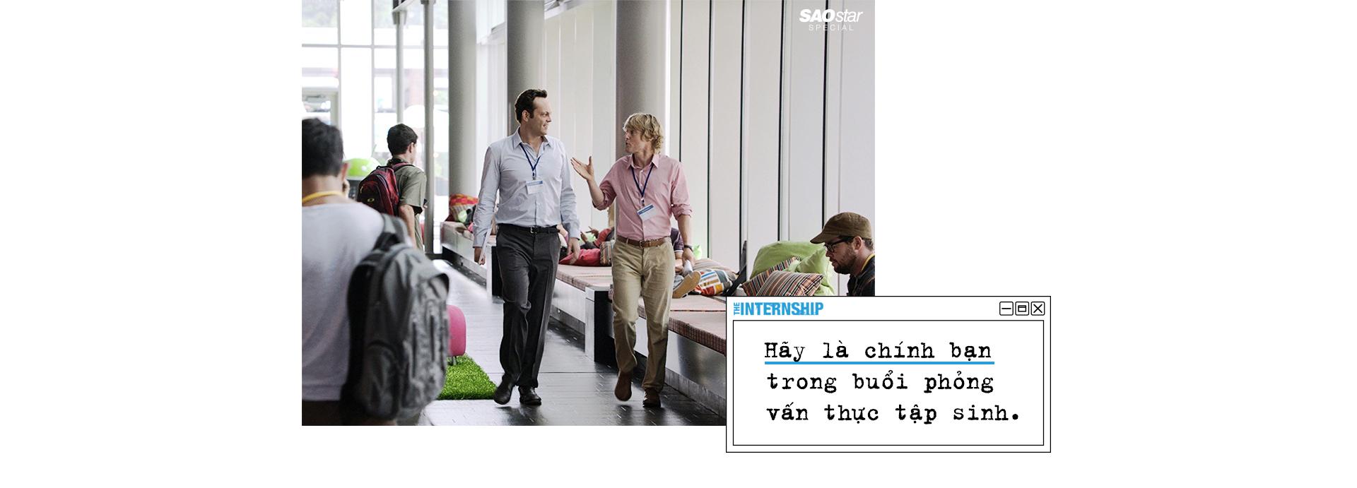 'Internship': Câu chuyện thực tập phiêu lưu ký trên màn ảnh với vô số bài học bổ ích