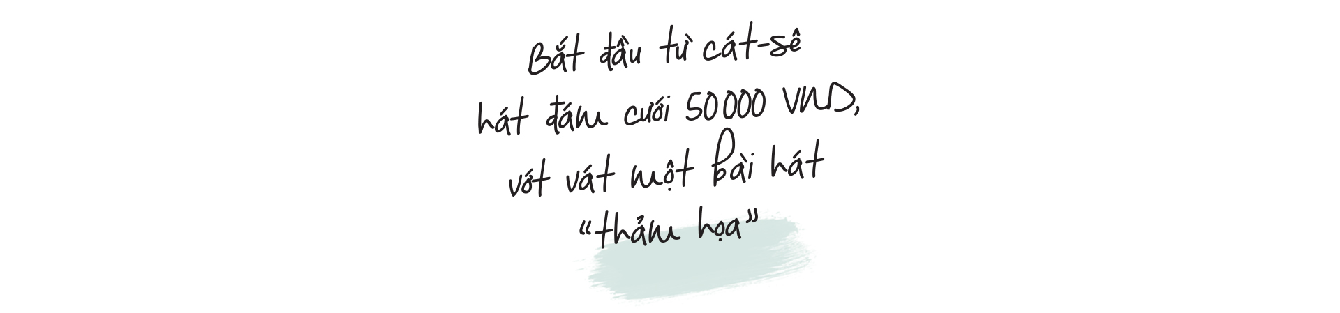 Nghe Chi Dân trong câu chuyện hát đám cưới cát-sê 50.000 VND, tưởng BTC MAMA… gọi lộn số