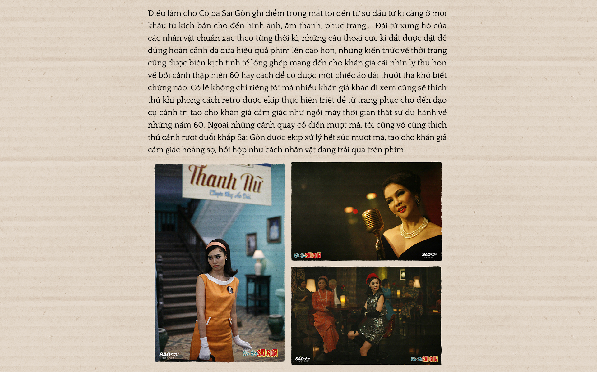 'Cô Ba Sài Gòn': Những cái đẹp của Sài Thành được vẽ lại đầy cảm xúc