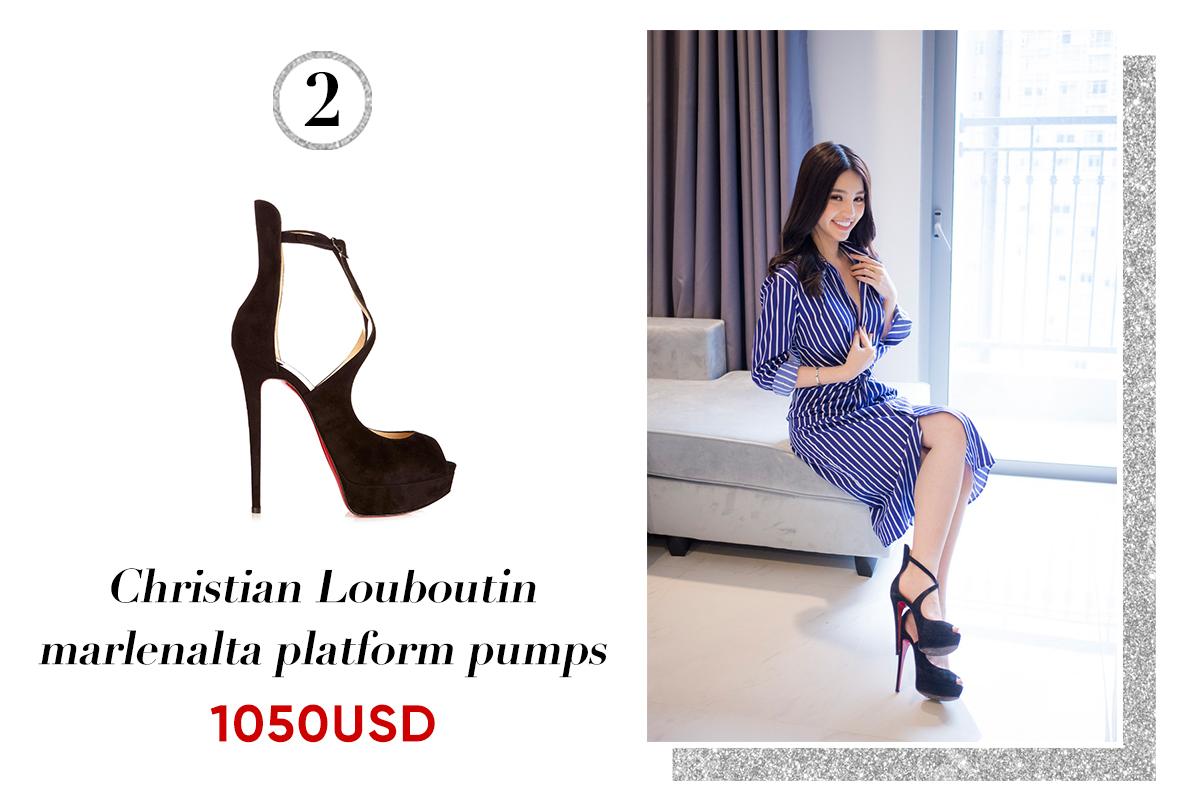 Hoa hậu Jolie Nguyễn: 'Người yêu có thể không có, nhưng giày cao gót không thể thiếu'