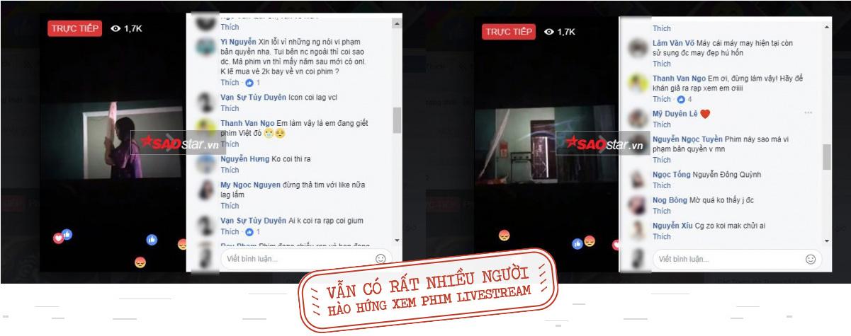 Livestream quay lén phim rạp: Hành vi vô ý thức được bao biện bởi lý lẽ 'trẻ người non dạ' và 'câu like'