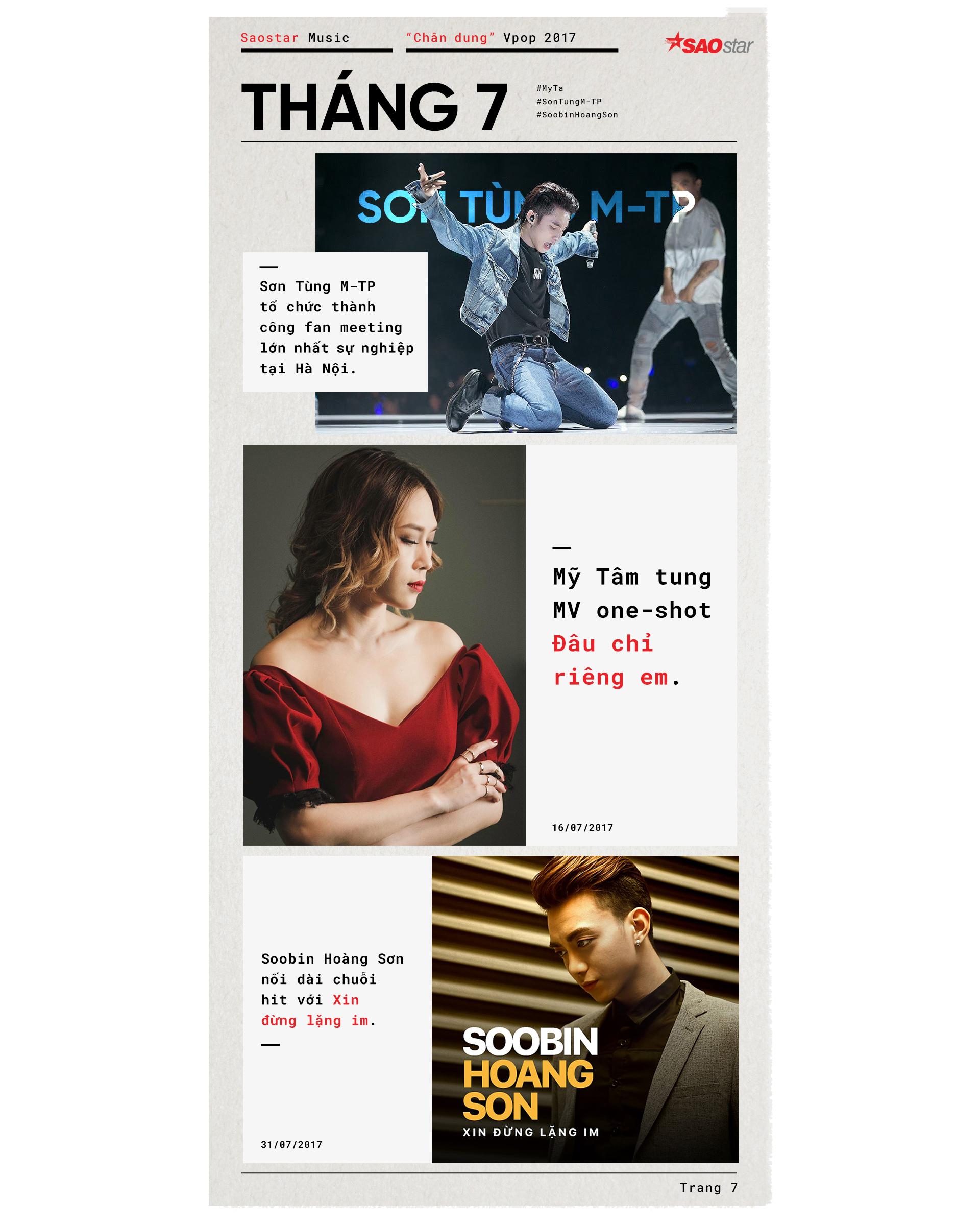 'Cuốn tạp chí' Vpop 2017: Không thiếu dấu ấn nhưng cần… dày trang hơn nữa!