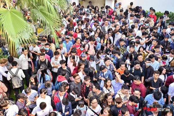 Không khí trong buổi tuyển sinh cũng tấp nập, nhộn nhịp không kém.