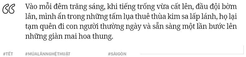 Đoàn lân hai thế hệ và câu chuyện những chàng trai chưa bao giờ có Tết ở Sài Gòn