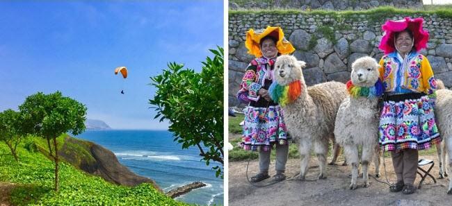 Chi phí ăn nghỉ tại Peru tương đối rẻ, với giá thuê phòng nhà nghỉ từ 5 euro/đêm và khách sạn từ 11 euro/đêm. Bạn có thể thưởng thức nhiều đặc sản địa phương hấp dẫn với giá chỉ 3-8 euro/bữa. Giá xe bus di chuyển giữa các thành phố chỉ 1-3 euro.
