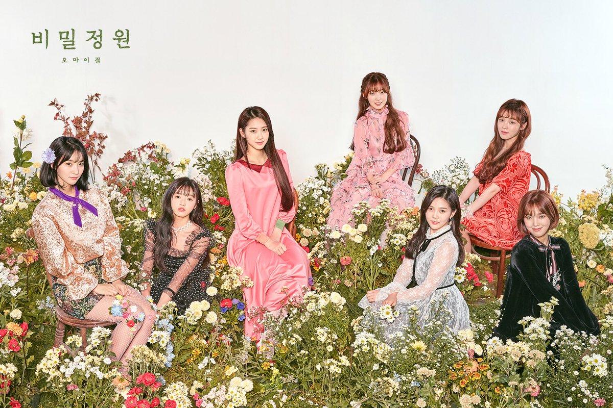 Hiệu ứng từ <em>Secret Garden</em>giúp Oh My Girl đứng hạng 4, lùi một bậc so với tháng trước.