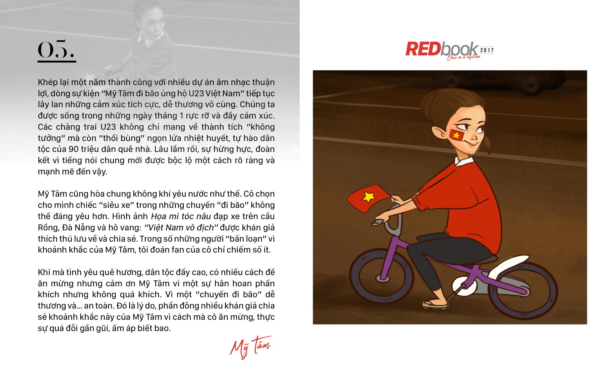 REDbook Tết Mậu Tuất - Ngôi sao ngày 30 Tết: Mỹ Tâm