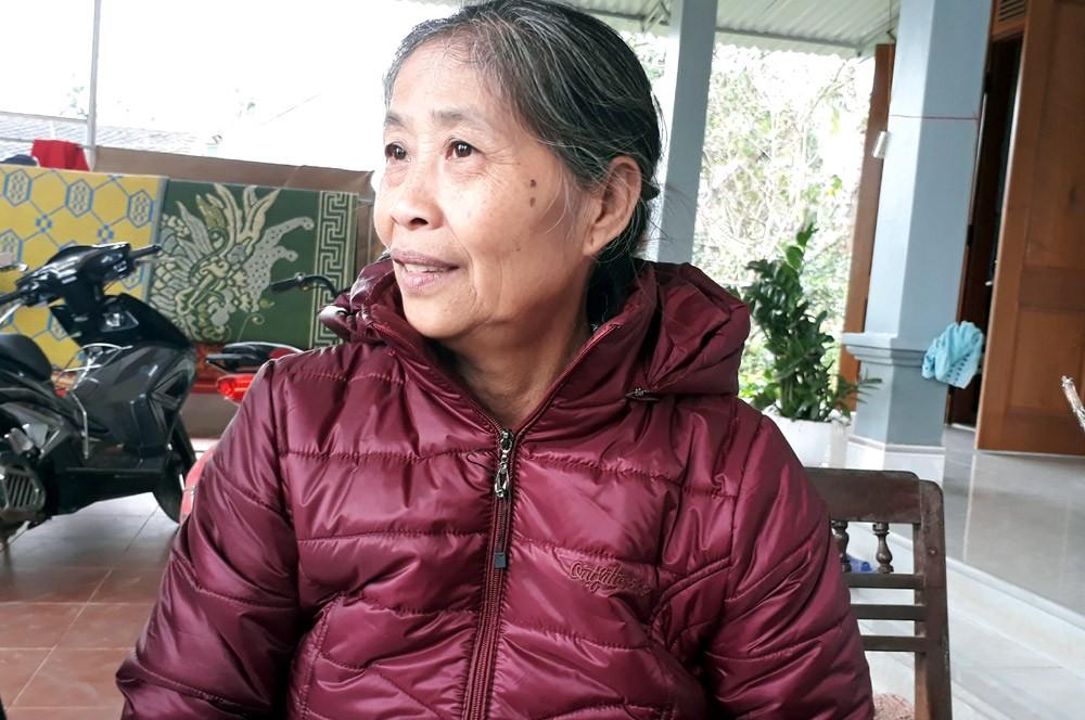 Bà Nguyễn Thị Hoa, mẹ cầu thủ Công Phượng. Ảnh: Ngọc Trang.