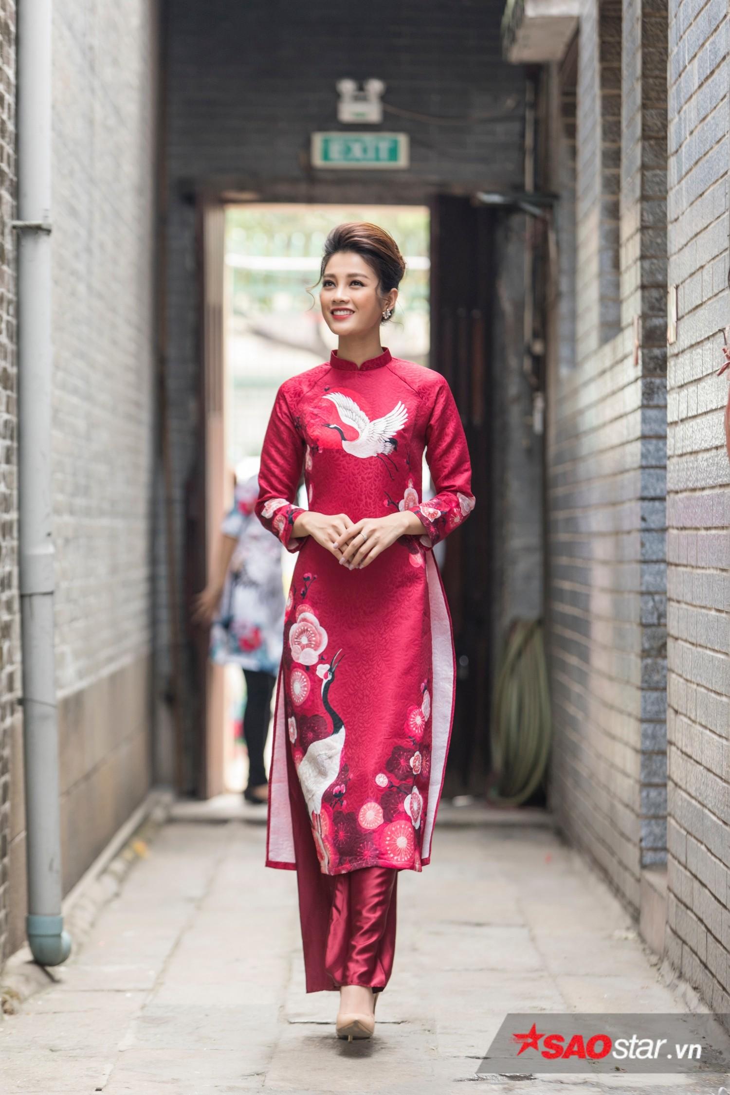 So với thời điểm tham gia Hoa hậu Hoàn vũ Việt Nam, Mỹ Duyên đã giảm hẳn 5 kg do bệnh liên tục. Cô mong thời gian tới, sức khoẻ sẽ ổn định hơn để tập trung vào công việc.