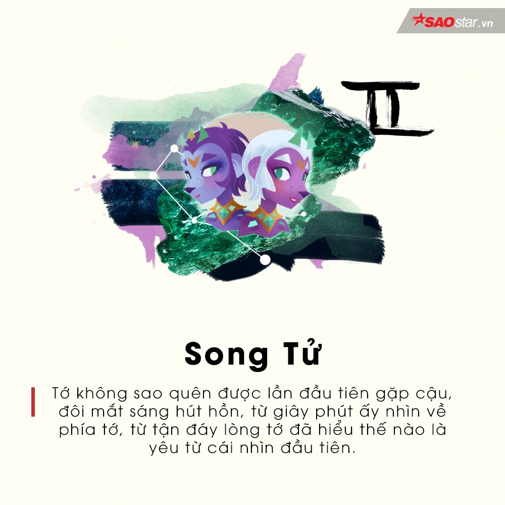 Song Tử 21/5 - 21/6.