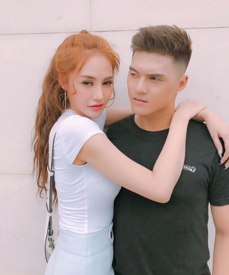 Hình ảnh tình tứ của Lâm Vinh Hải - Linh Chi.