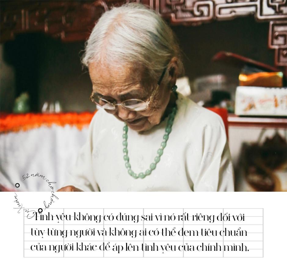 Chuyện cụ bà 94 tuổi 52 năm chờ chồng về cùng vợ mới: 'Đừng lấy tiêu chuẩn từ người khác để áp lên tình yêu của mình'