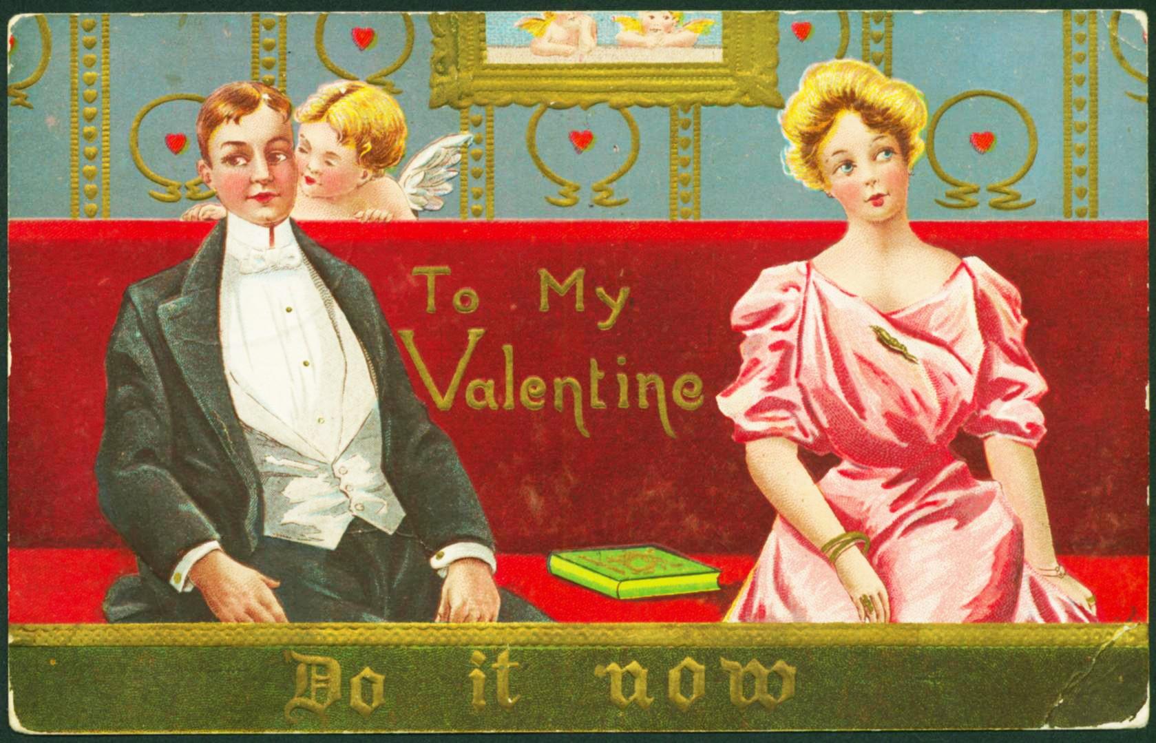 Tấm thiệp Valentine bắt nguồn từ truyền thuyết thứ 3 của ngày lễ tình nhân.