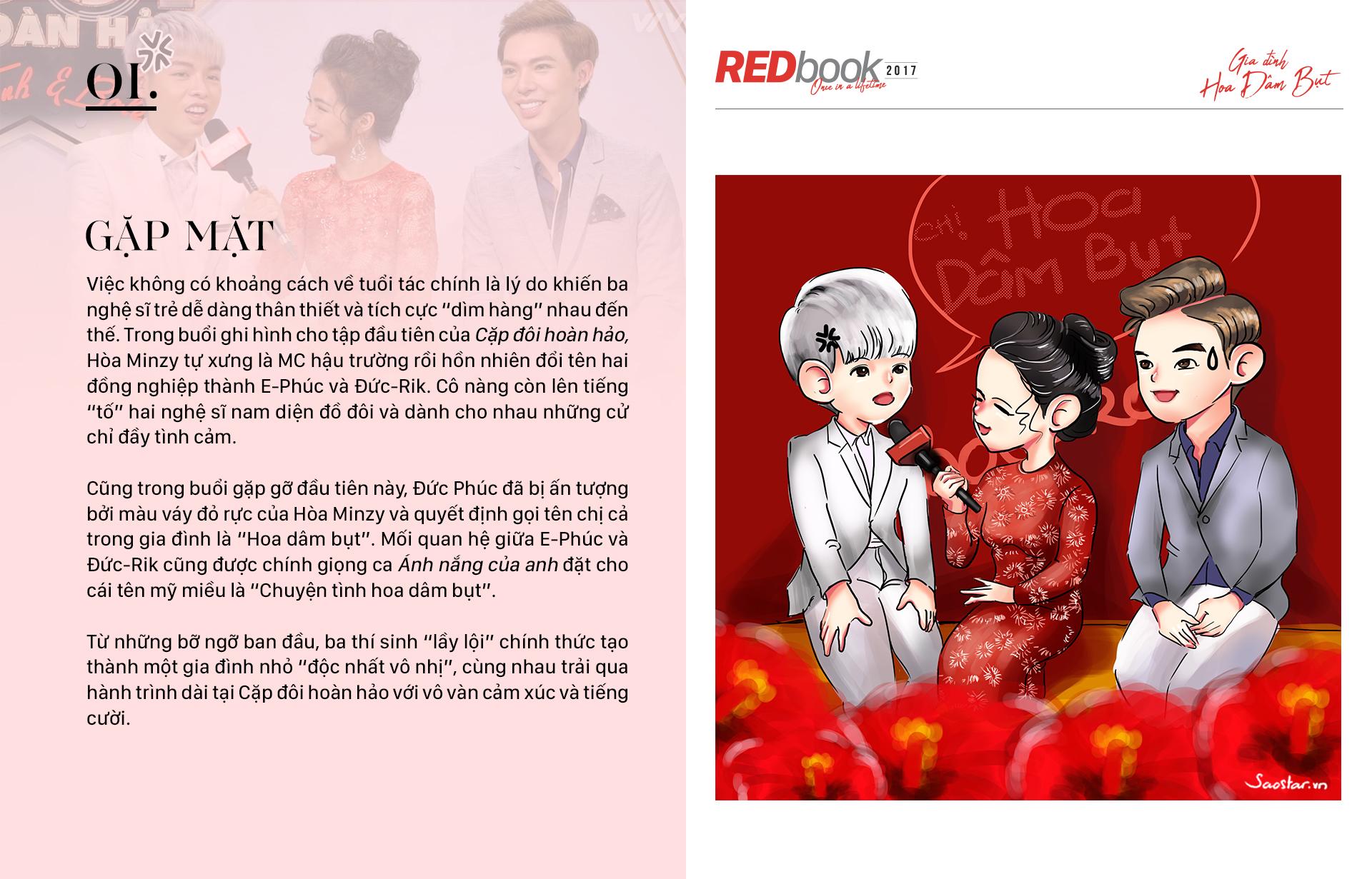 REDbook Tết Mậu Tuất - Ngôi sao mùng 4 Tết: Gia đình Hoa dâm bụt