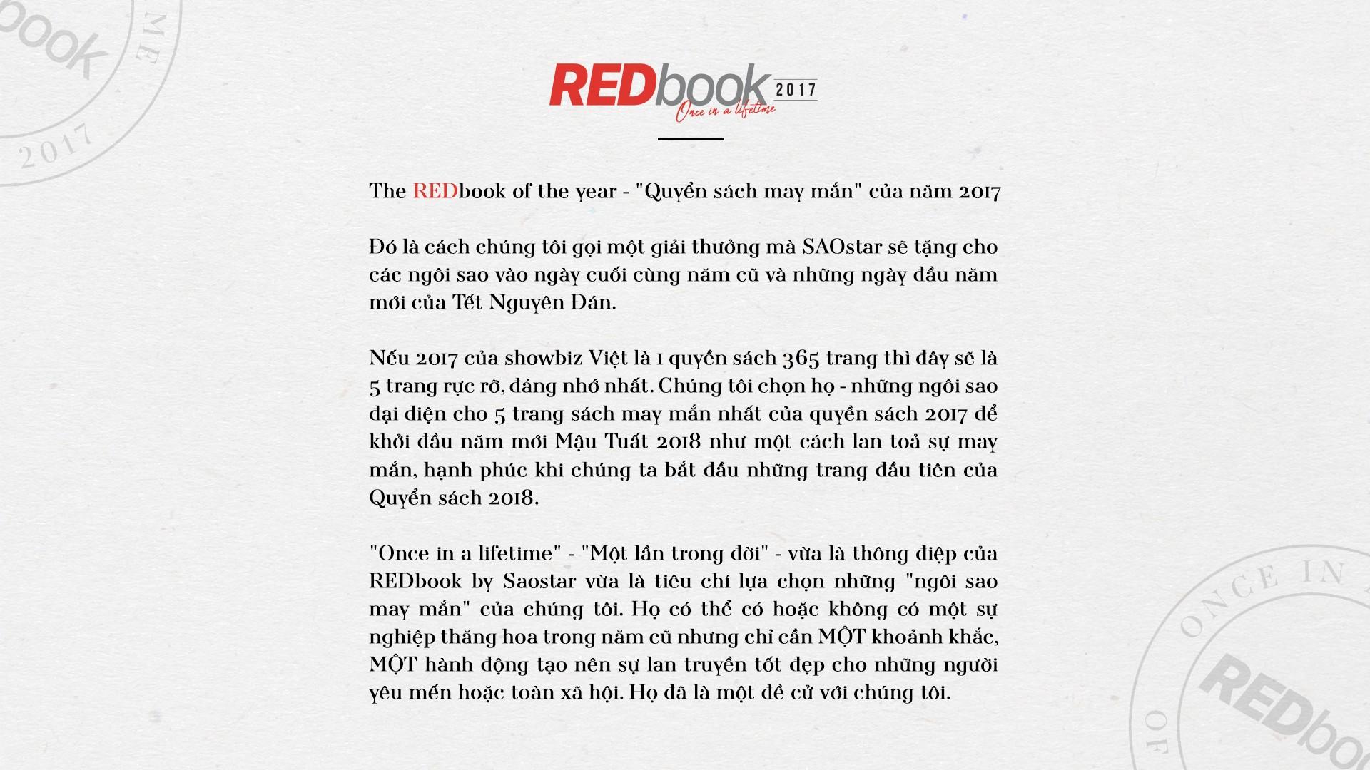 REDbook Tết Mậu Tuất - Ngôi sao mùng 1 Tết: Sơn Tùng