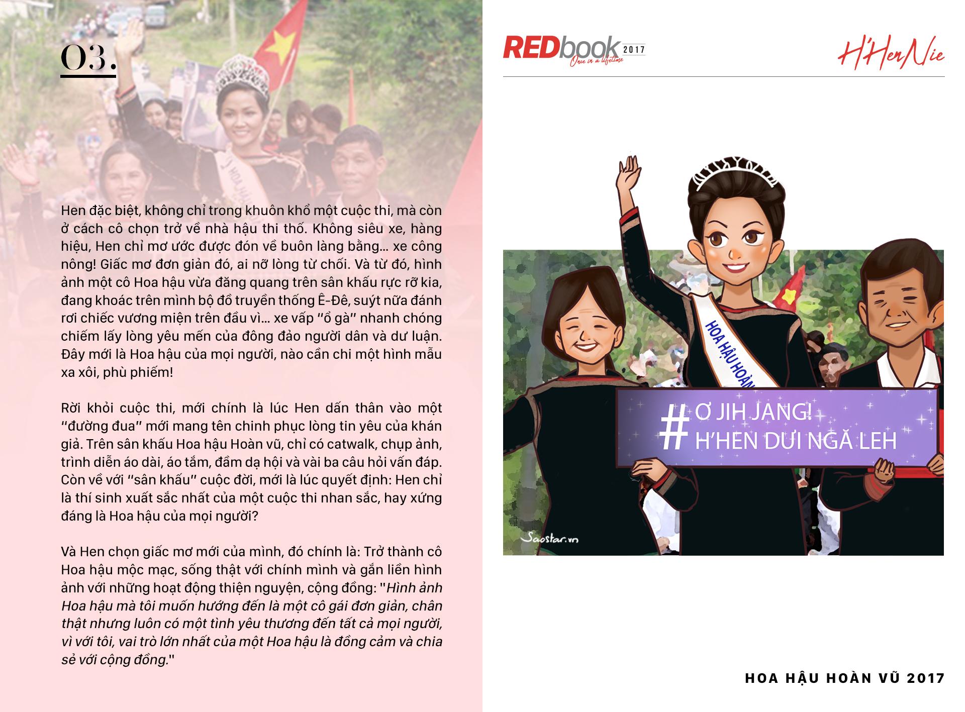 REDbook Tết Mậu Tuất - Ngôi sao mùng 3 Tết: H'Hen Niê