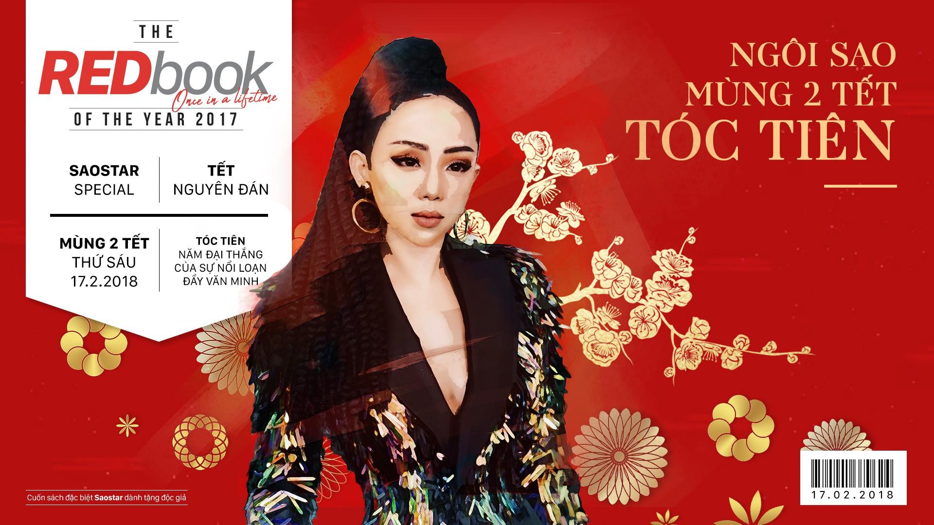 REDbook Tết Mậu Tuất - Ngôi sao mùng 2 Tết: Tóc Tiên