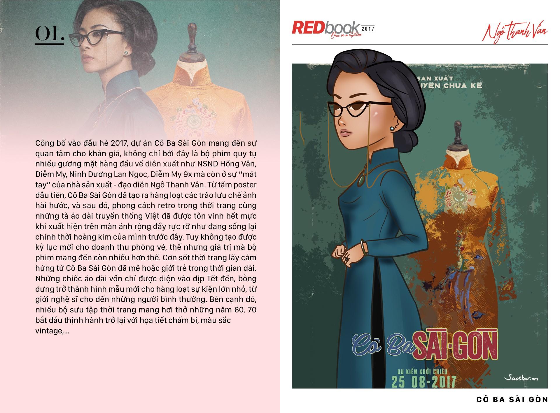 REDbook Tết Mậu Tuất - Ngôi sao mùng 5 Tết: Ngô Thanh Vân
