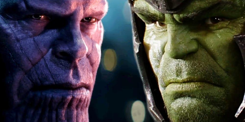 Đây là câu trả lời cho câu hỏi bấy lâu nay: Hulk và Thanos, ai mạnh ...