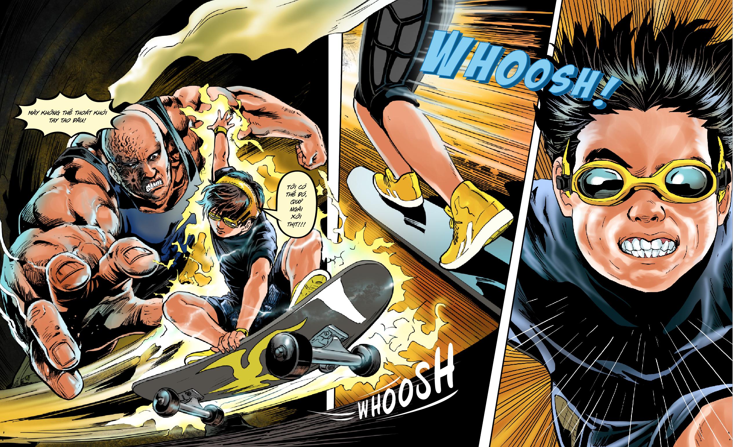 Việt Nam chính thức có Vũ trụ truyện tranh điện ảnh siêu anh hùng giống  Marvel