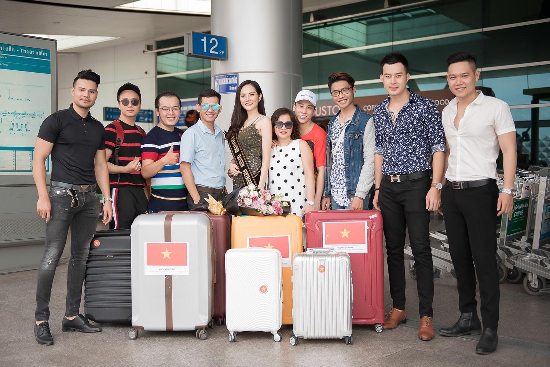 Diệu Linh lên đường sang Thái Lan dự thi