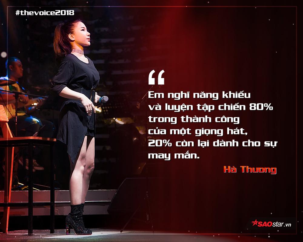 Hà Thương: Những lần rớt tơi bời cho tôi động lực để 'chinh chiến' tại The Voice 2018