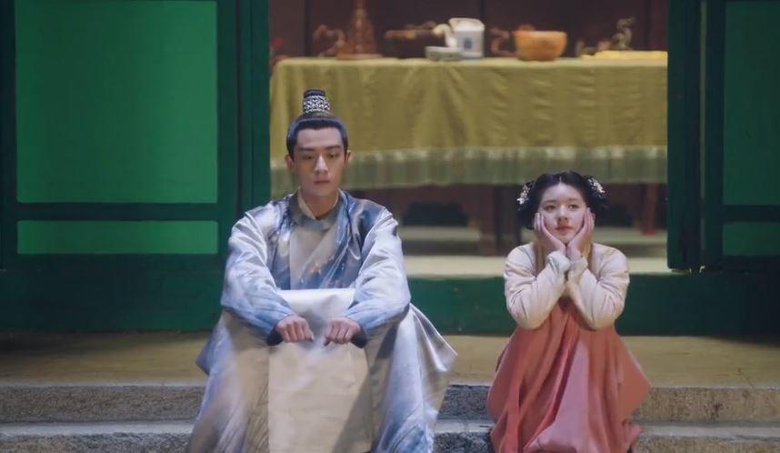 Hoàng đế Bắc Đường Dịch ngượng ngùng khi gặp Lạc Phi Phi trong phim Ôi hoàng đế bệ hạ của ta