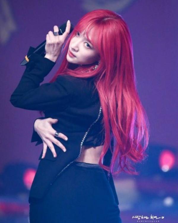Tóc đỏ nóng bỏng…