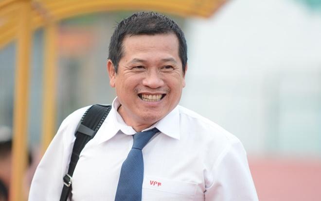 Ông Dương Văn Hiền phủ nhận chuyện hai trọng tài FIFA sợ bầu Đức. Ảnh: Zing.vn