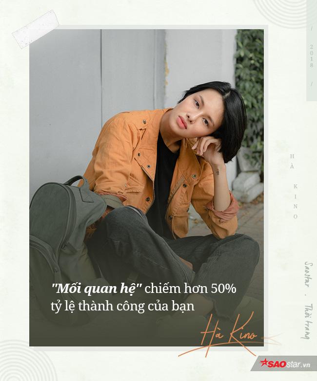 Người mẫu Hà Kino: 'Đừng nghĩ catwalk ở sàn diễn Quốc tế sẽ đem về cho bạn số tiền hậu hĩnh'