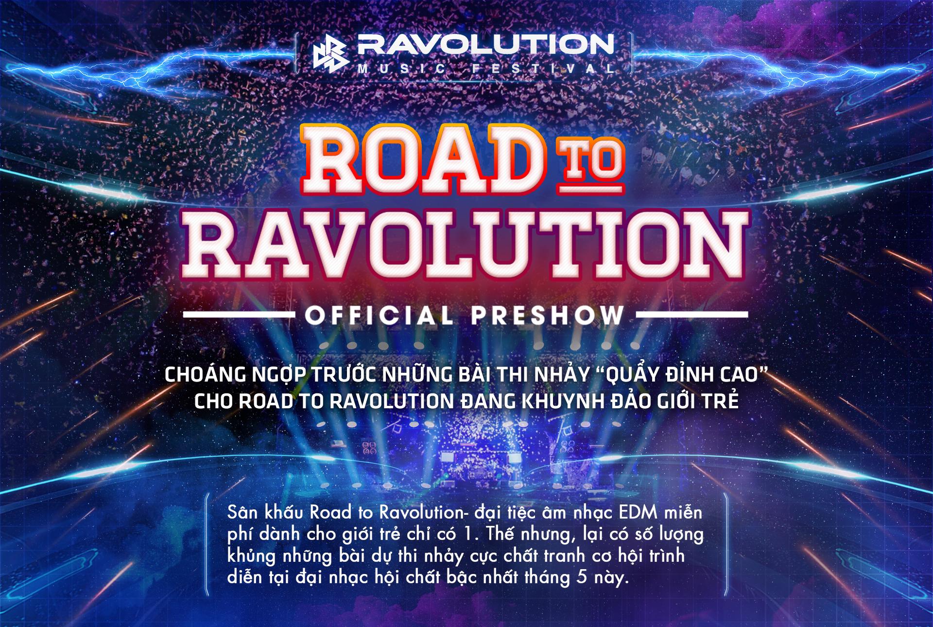 Choáng ngợp trước những bài thi nhảy 'quẩy đỉnh cao'  cho Road to Ravolution đang khuynh đảo giới trẻ