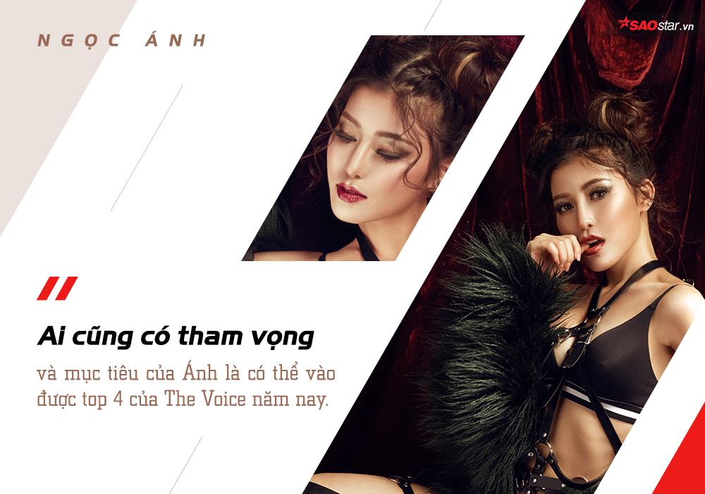 Ngọc Ánh: Từ mức catse 200,000 đầu tiên đến 'cô gái nút chặn' của The Voice 2018